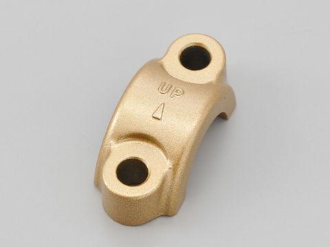 NISSIN ラジアルブレーキマスターシリンダーホルダー(ミラー穴無し) ゴールド