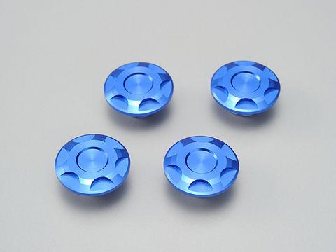 ドレスアップボルトキャップ【M8】ブルー