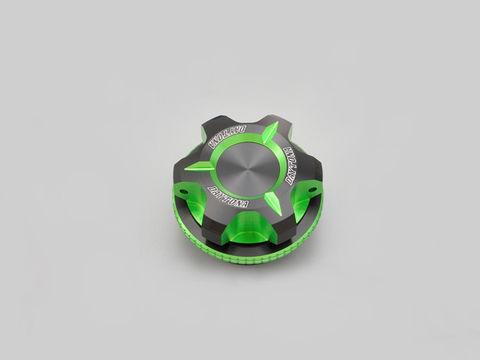 PREMIUM ZONE オイルフィラーキャップ【M27XP1.5】ライムグリーン