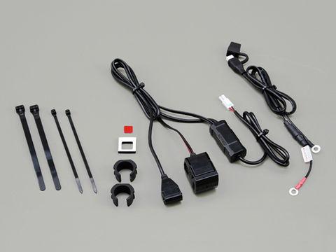 バイク専用電源 USB 1ポート シガーソケット1ポート