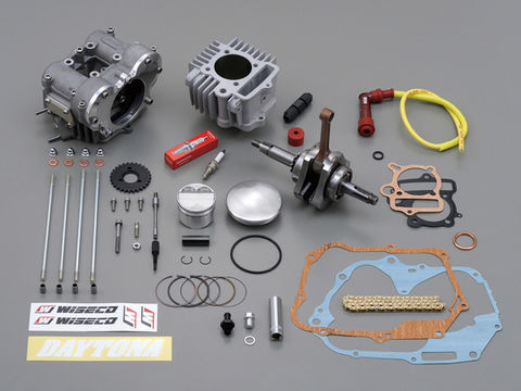 フィンガーフォロアーDOHC ボア&ストロークアップキット(124.8cc)