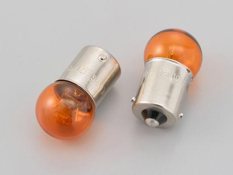ウインカーバルブ 2個セット φ18.5×35mm 12V10W オレンジ