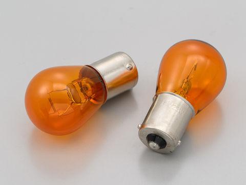 ウインカーバルブ 2個セット φ26×50mm 12V23W オレンジ