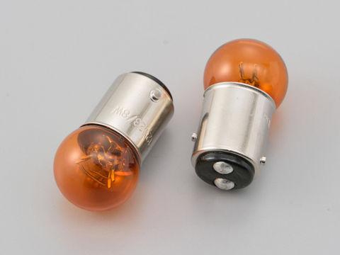 ウインカーバルブ 2個セット φ18.5×35mm 12V23/8W オレンジ