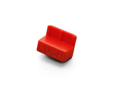 GIVI 【Z108】プッシュボタン(赤)