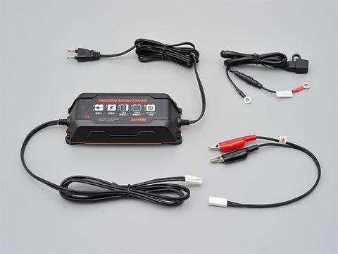 スイッチングバッテリーチャージャー12V【回復微弱充電器】