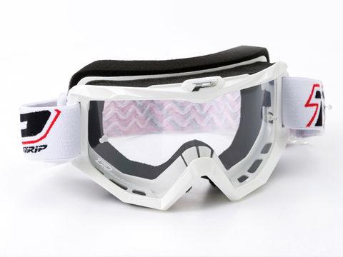 PRO-GRIP 3201 レースラインゴーグル ホワイト