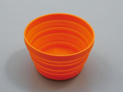 マグネットシリコントレー オレンジ
