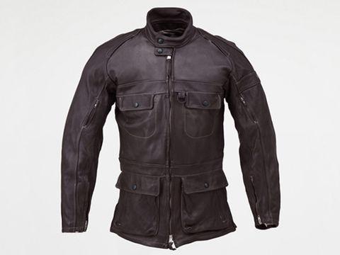 HBR001 ロングレザージャケット  ブラウン