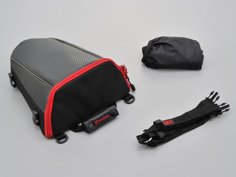 HenlyBeginsシートバッグ 【DH-708】カーボン&レッド
