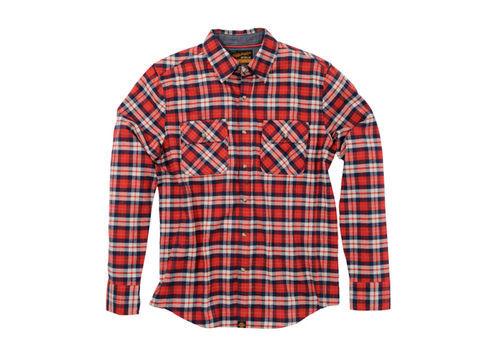 NHB1504 ネルシャツ レッド