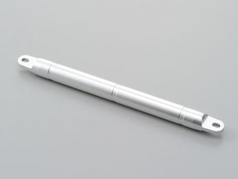 アクセサリークロスバー用シャフト 長250mm シルバー