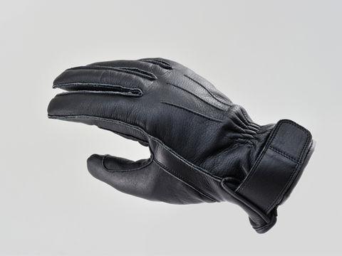 HBG-023 AW 外縫いショートグローブ ブラック