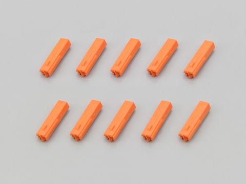 ウインカーコネクター<オス> オレンジ (NEWホンダ用)