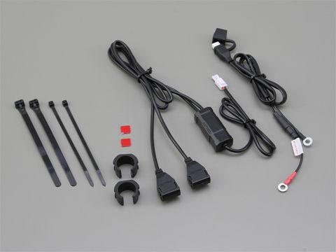 2.1バイク専用電源 USB2ポート