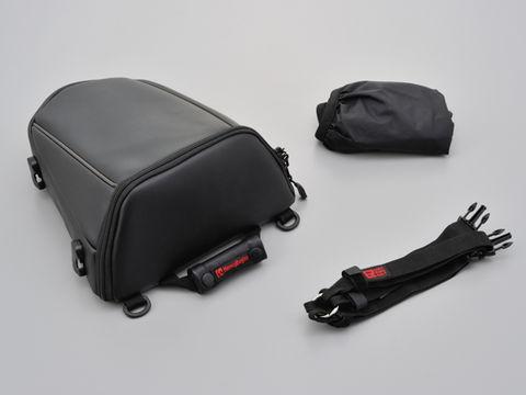 HenlyBeginsDH-708シートバッグ 合皮ブラック