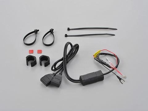 バイク専用電源 USB2ポート ACC2.1A