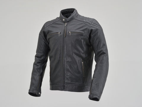 DL-006 カフェライダースジャケット ブラック