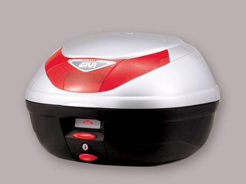 GIVI E350G730 モノロックケース <35L> シルバー塗装