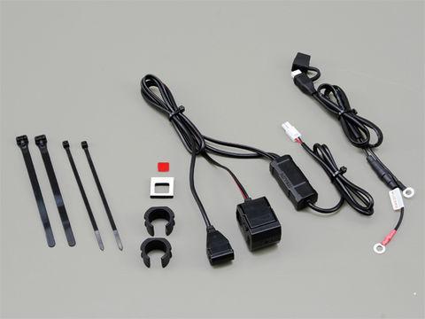2.1バイク専用電源 USB1ポート+シガーソケット1ポート