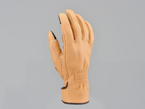 HBG-039内縫いガンカットロング ナチュラル