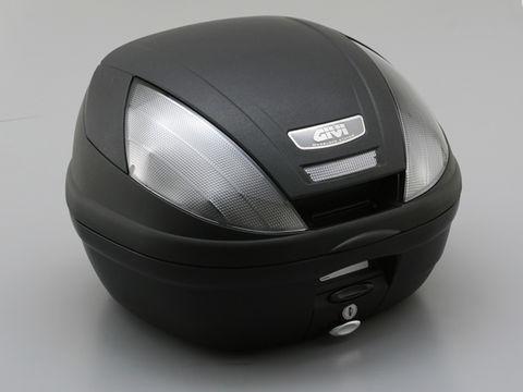 GIVI 【E370NTD】E370 <39L>未塗装ブラック TECHスモークレンズ