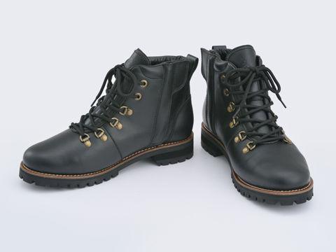 HBS-005 マウンテンブーツ ブラック