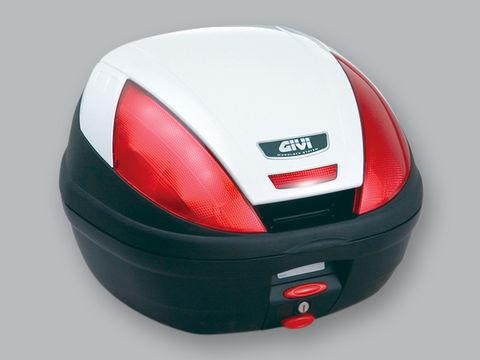 GIVI E370B906D モノロックケース <37L> パールホワイト塗装