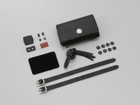 革鎧ETCケース 汎用 ブラック