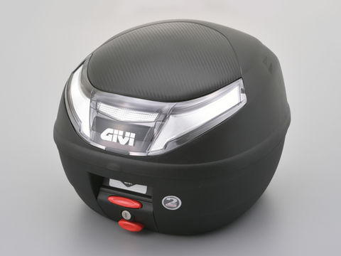 GIVI E260NX MICROⅡ(ストップランプ無し)未塗装ブラック(スモークレンズ)<26L>