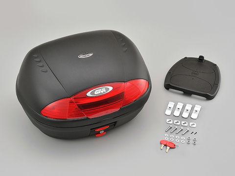 GIVI E450N モノロックケース <45L> 未塗装ブラック