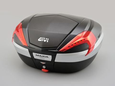 GIVI V56NN モノキーケース <56L> 未塗装ブラック(カーボン調パネル)