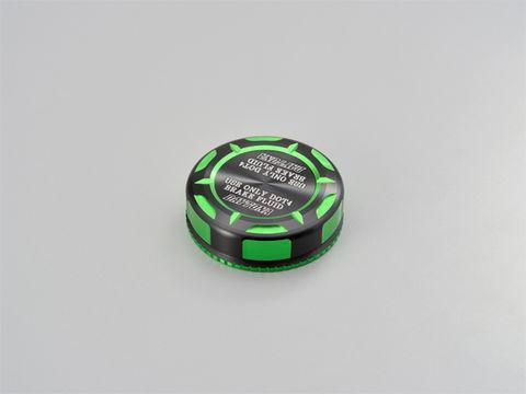マスターシリンダータンクキャップ  【brembo S15A/S15B】 ライムグリーン