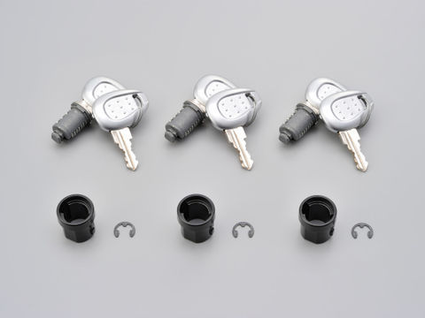 GIVI 【Z228A】 セイムナンバーキー (3本セット) シルバー