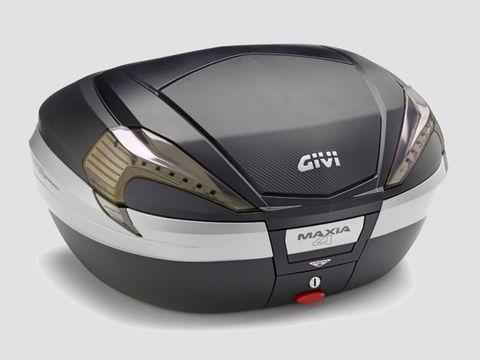 GIVI V56NNT モノキーケース <56L> TECH未塗装ブラック(カーボン調パネル)