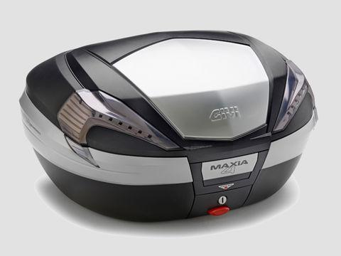 GIVI V56NT モノキーケース <56L> TECH未塗装ブラック(アルミパネル)