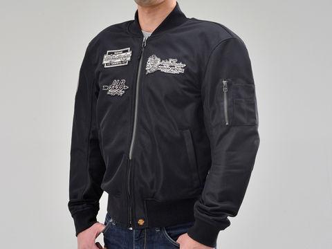 HBJ-036 MA-1ジャケット ブラック