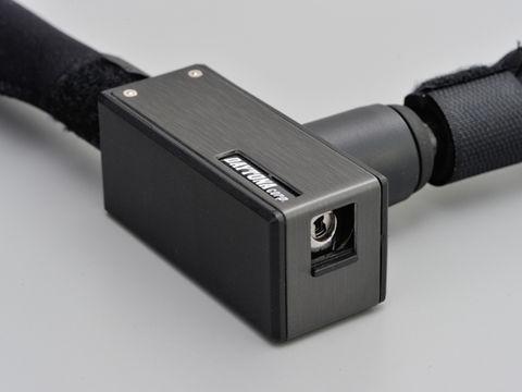 ストロンガーワイヤーロック キーロックタイプ 1200mm/ブラック