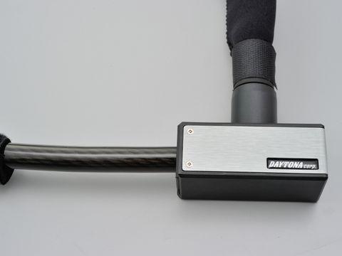ストロンガーワイヤーロック キーロックタイプ 1800mm/シルバー