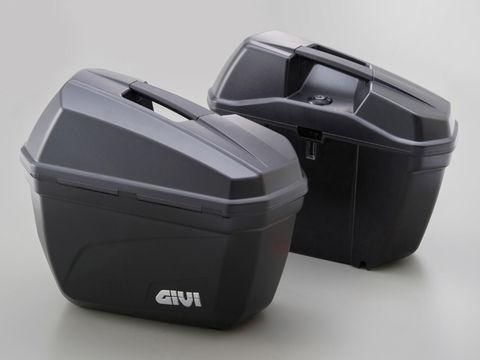 GIVI E22ND 無塗装ブラック 左右1セット
