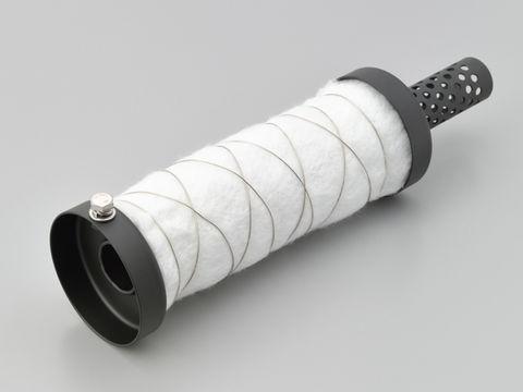 インナーサイレンサー φ67.5グラスウール消音 スチール