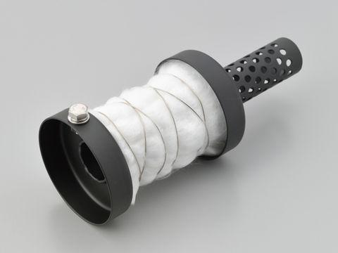 インナーサイレンサー φ67.5ショートタイプグラスウール消音 スチール