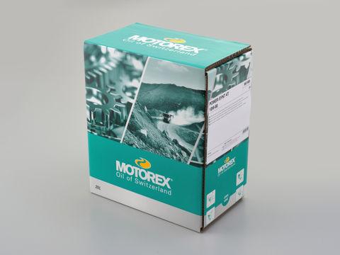 MOTOREX POWER SYNT 4T ディスペンサー付きバッグ