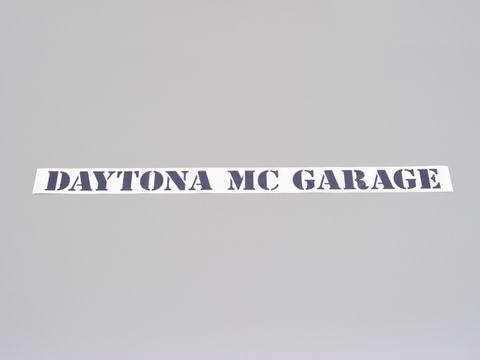 MCガレージロゴデカール
