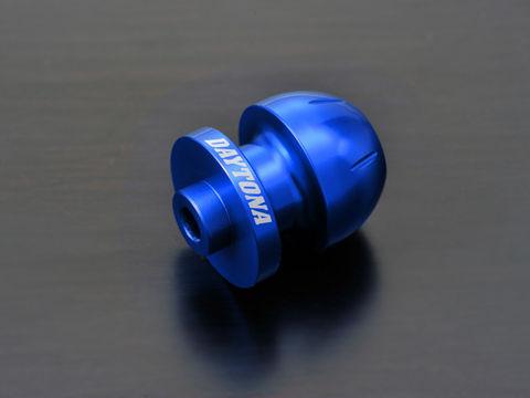 アルミビレットスイングアームスプール(BULLETタイプ) ブルー M6用/2個入り