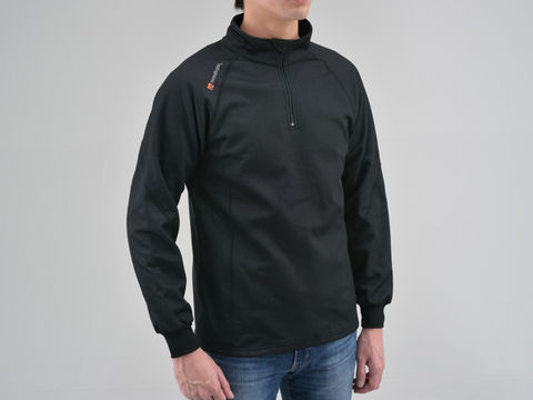 HBV-001 防風防寒インナーシャツ ブラック