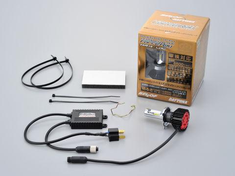 LEDヘッドランプバルブ フォース・レイ (H4 Hi/Low)