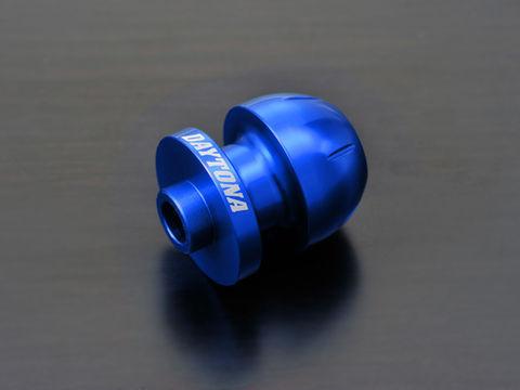 アルミビレットスイングアームスプール(BULLETタイプ) ブルー M8用/2個入り