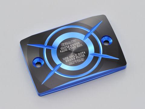 PREMIUM ZONE 角型マスターシリンダーキャップ YAMAHA-D ブルー