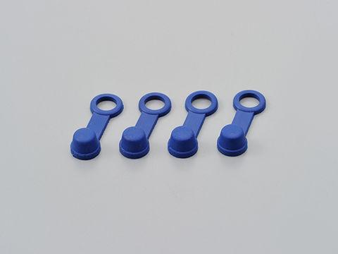 ブリーダーラバーキャップ 4個入り ブルー